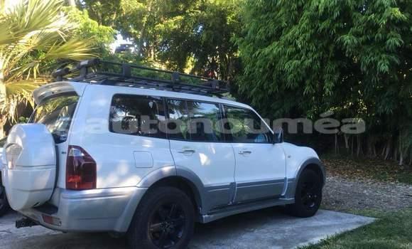 Acheter Occasion Voiture Mitsubishi Montero Blanc à Canala, Nord