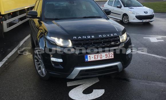 Acheter Occasion Voiture Land Rover Range Rover Evoque Noir à Noumea, Sud