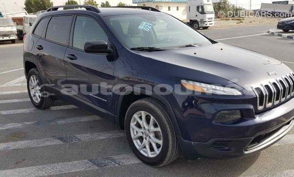 Acheter Importé Voiture Jeep Cherokee Bleu à Import - Dubai, Iles