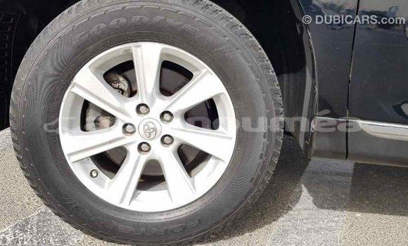 Acheter Importé Voiture Toyota Highlander Noir à Import - Dubai, Iles