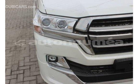 Acheter Importé Voiture Toyota Land Cruiser Blanc à Import - Dubai, Iles
