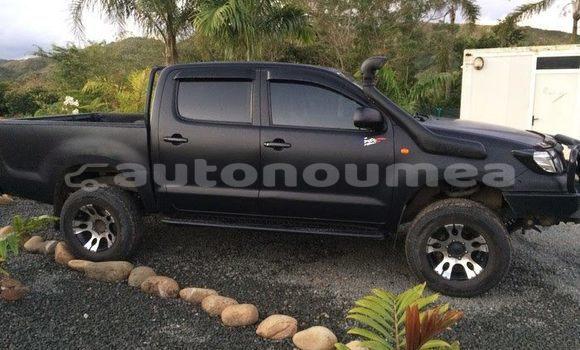 Acheter Occasion Voiture Toyota Hilux Noir à Bourail, Sud