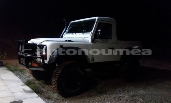 Acheter Occasion Voiture Land Rover Defender Blanc à Bourail, Sud